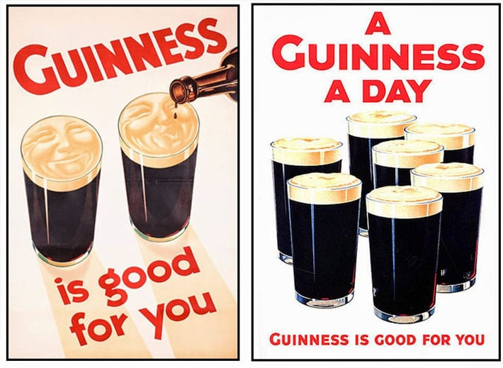 Guinness is Good for You Ads
