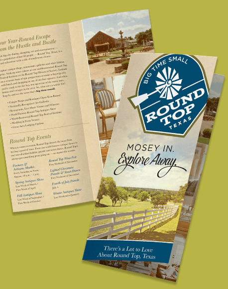 Round Top visitor brochure