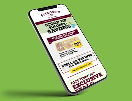 Food Town grocery mobile site